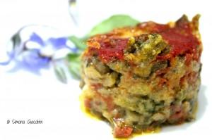 La parmigiana di borragine di Peppe Zullo
