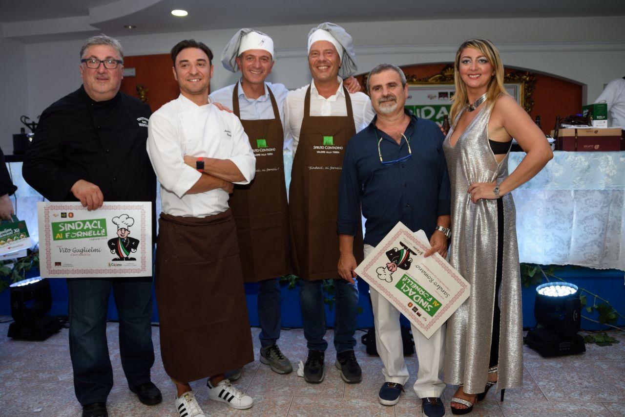 Sandro Romano con i vincitori